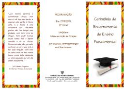 Apresentação do PowerPoint - Colégio São Vicente de Paulo