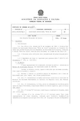 """ASSOCIAÇÃO EDUCACIONAL """"NOVE DE JULHO"""" Dom Serafim"""