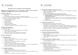 Checklist para realização de entrevista