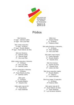 Resultados - natação (tempos e classificações).cdr
