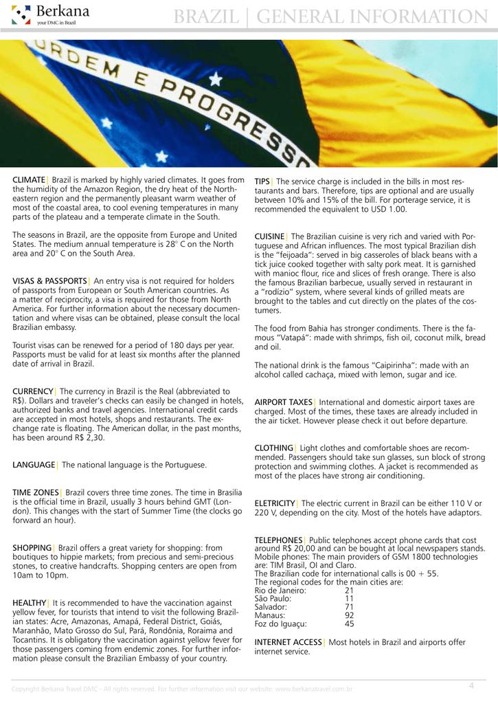 BRAZIL | GENERAL INFORMATION