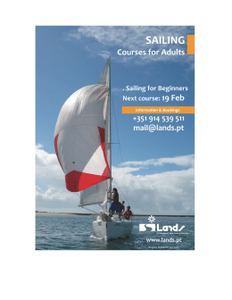 Lands Sailing Courses for beginners!