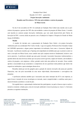 Papel timbrado - Fundação Dom Cabral
