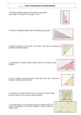 exercicios razoes trigonometricas