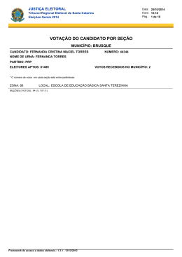 Fernanda Cristina Maciel Torres - Tribunal Regional Eleitoral de