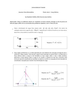 Física eletrostática
