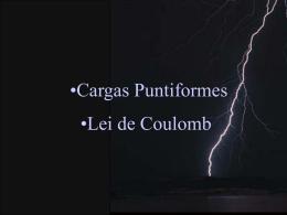02-cargaspuntiformes e lei de coulomb