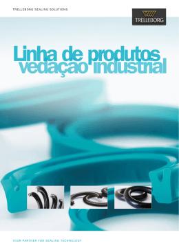 Linha de produtos vedação industrial