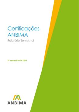 segundo número do relatório Certificações ANBIMA