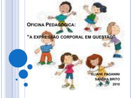EDUCAÇÃO FÍSICA ESCOLAR EDUCAÇÃO INFANTIL