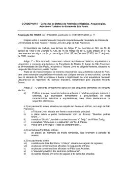 RES. SC N 185 - Faculdade de Direito USP