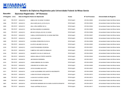 clique aqui para conferir a 34ª remessa de diplomas
