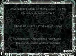 Universidade Federal de Minas Gerais – UFMG