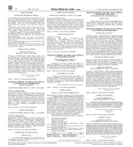 9. Publicação no DOU - Instituto Federal Goiano