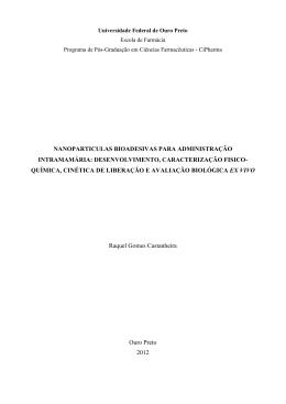 nanoparticulas bioadesivas para administração