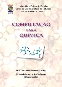 Apostila disciplina Computação Para Química