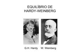 EQUILÍBRIO DE HARDY