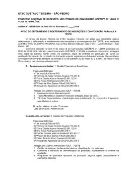 MODELO 3C - ETEC Gustavo Teixeira
