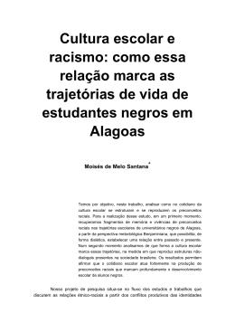 Cultura escolar e racismo: como essa relação marca as trajetórias