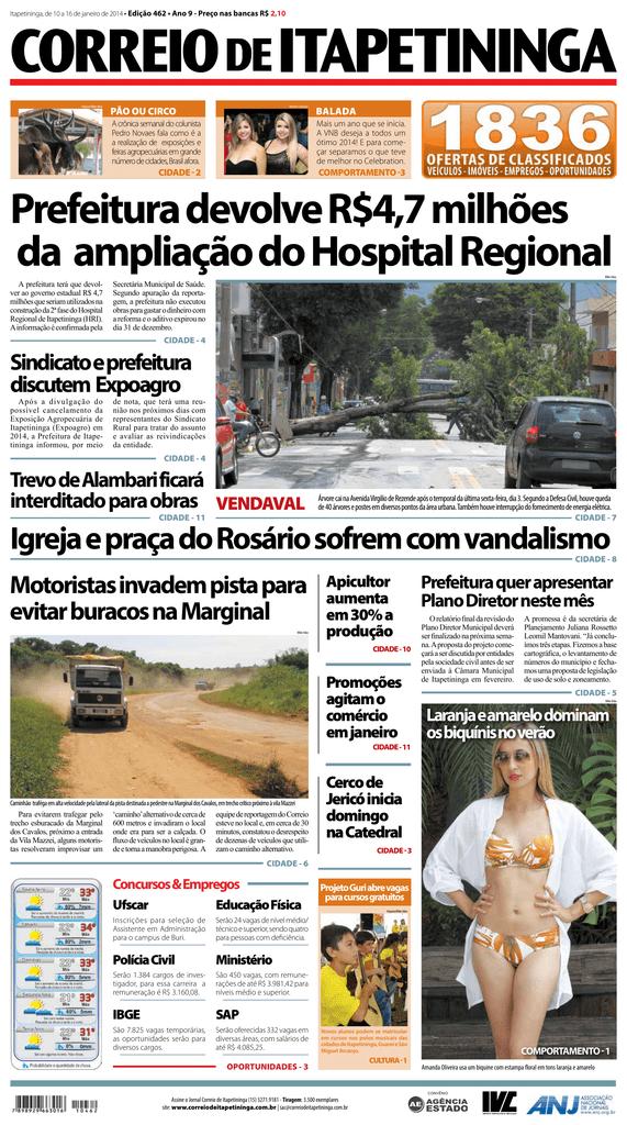 c2db10c03 Prefeitura devolve R$4,7 milhões da ampliação do Hospital Regional