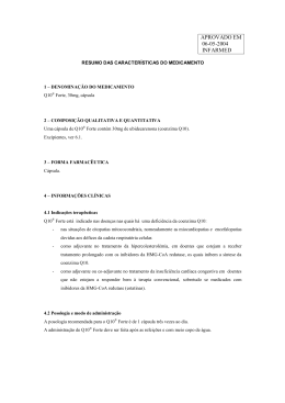 Resumo de Características do Medicamento (RCM)