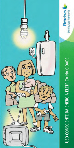 uso consciente da energia elétrica na cidade