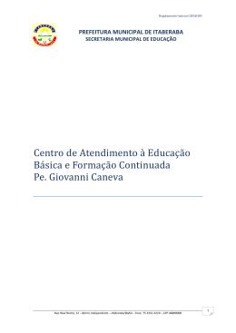 Centro de Atendimento à Educação Básica e Formação Continuada