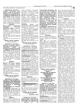 Vitória (ES), Sexta-feira, 07 de Fevereiro de 2014
