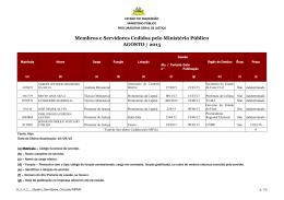 Agosto 2015 - Sítio do Ministério Público do Maranhão