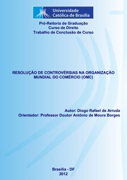Diogo Rafael de Arruda - Universidade Católica de Brasília