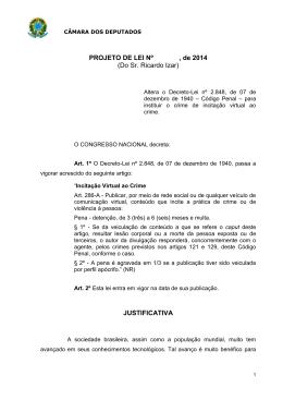 PL 7544/2014 - Câmara dos Deputados
