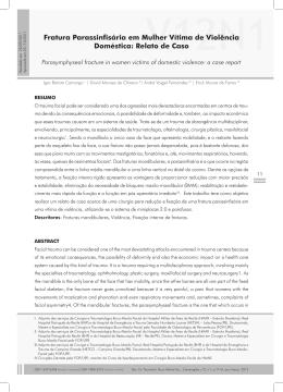 Artigo Completo - Revista de Cirurgia e Traumatologia Buco