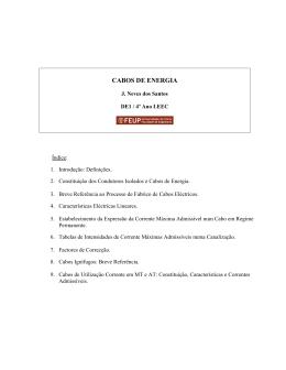 CABOS DE ENERGIA - MarioLoureiro.net
