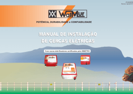 Manual de Cercas Elétricas