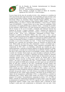 ATA REUNIÃO DA CIEA 05 11 10