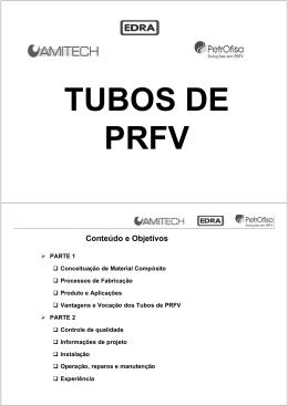 Vantagens dos Tubos de PRFV