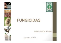 fungicidas – mecanismos de ação - leb