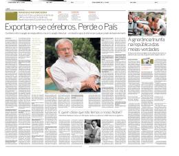 Entrevista com o físico Francisco Antonio Doria