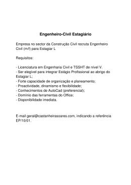 Engenheiro-Civil Estagiário