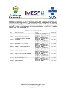 ATO 133-2012 -admissões e demissões