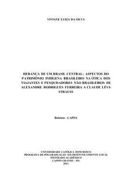 herança de um brasil central: aspectos do patrimônio