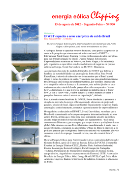 energia eólica Clipping