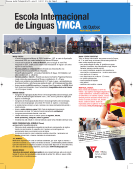 escola Internacional de línguas YMCA do Quebec