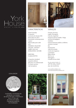 Fact Sheet - York House