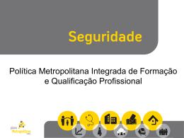 Formação e Qualificação Profissional