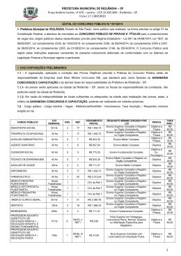prefeitura municipal de riolândia – sp 1