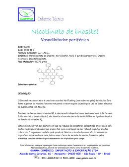 Nicotinato de inositol Nicotinato de inositol