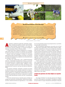 A Química dos Agrotóxicos