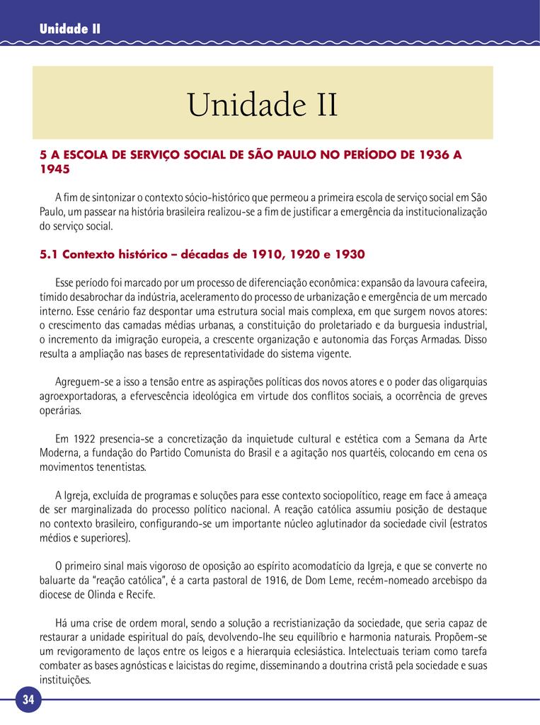 d24ef274ca Serviço Social Surgimento e Institucionalização no Brasil.indb