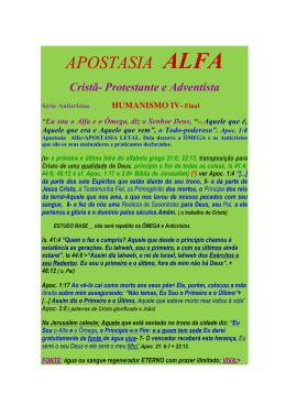 APOSTASIA ALFA